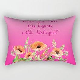 Get Pinky With Poppy Rectangular Pillow