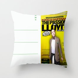 King Kaufman: The Passion of Lloyd (2008) - Movie Poster Postcard Throw Pillow