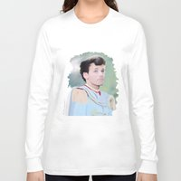 louis tomlinson Long Sleeve T-shirts featuring PRINCE LOUIS TOMLINSON by Flambino Gambino