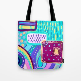 Pop Abstract Tote Bag