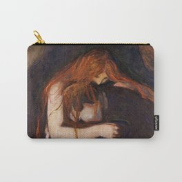 Vampire by Edvard Munch Carry-All Pouch