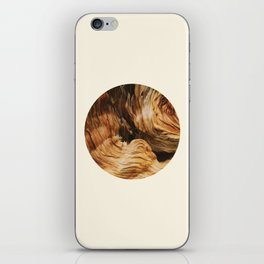 Abstract Wood Design iPhone Skin