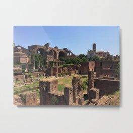 When In Rome Metal Print
