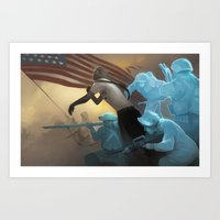 rebel Art Prints featuring Rebel by Dave Greco