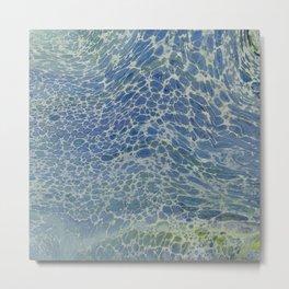 Breeze on Ocean Waves Metal Print