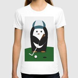 Putting Penguin T-shirt