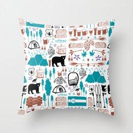 Colorado 2 Throw Pillow