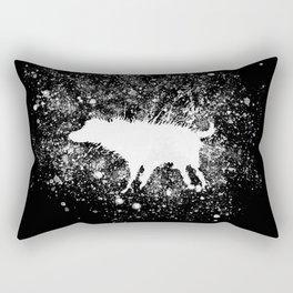Banksy Dog Splash Paint Artwork Reproduction, Posters, Prints, Bags, Mugs, Postcards, Tshirts, Men, Rectangular Pillow