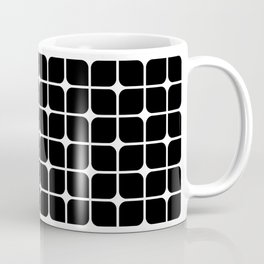 Mod Cube - Black & White Coffee Mug