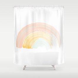 Choose Joy Rainbow Shower Curtain