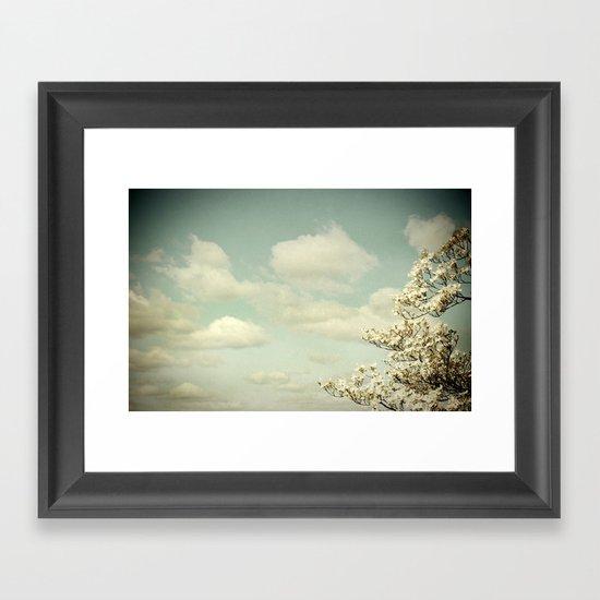 Feeling Lighter Than Air Framed Art Print