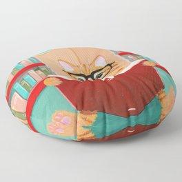 The Little Reader Floor Pillow