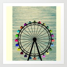 Longing for Summer Art Print