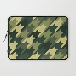 Camouflage houndstooth Laptop Sleeve
