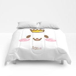 001 : Rabbity face Comforters