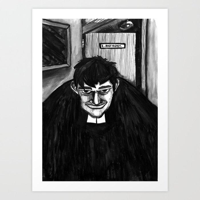 B.A Art Print