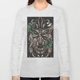 Moth and tiger Long Sleeve T-shirt