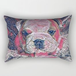 GlitzyAnimal_Dog_010_by_JAMColors Rectangular Pillow