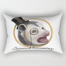 Awkward Opossum Rectangular Pillow