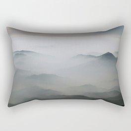Mountains mood 2 Rectangular Pillow