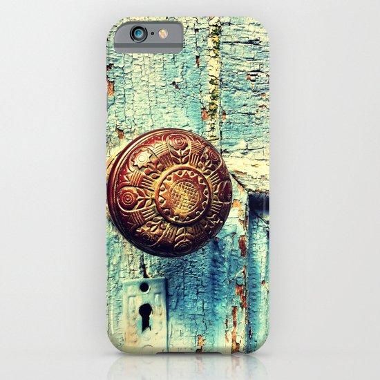 Unused door iPhone & iPod Case