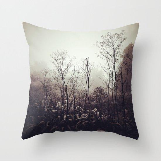 Morning Meditation Throw Pillow