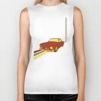 70s Biker Tanks featuring 70s by Maestral