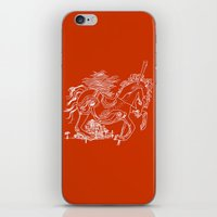 catcher in the rye iPhone & iPod Skins featuring The Catcher In The Rye (Red) by Jeremy Jon Myers