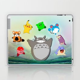 Video game Anime Character Rainbow Laptop & iPad Skin