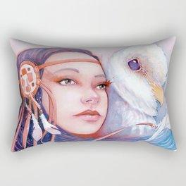 The Dreamwalker's Dawn Rectangular Pillow