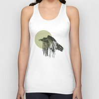 raven Tank Tops featuring raven by morgan kendall