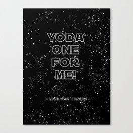 Star Crossed lovers 1 Canvas Print