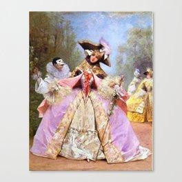 Victorian Masquerade Ball Canvas Print
