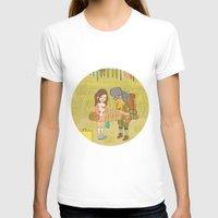 moonrise kingdom T-shirts featuring 'Moonrise Kingdom' by Nicola Colton illustration