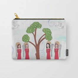 Angels Praying 2 Carry-All Pouch