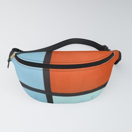 Piet Mondrian Composition Fanny Pack
