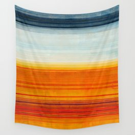 Yellowstone Orange Wall Tapestry