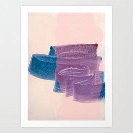 brush strokes 2 Art Print