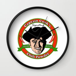 Captain 'Cook' Wall Clock