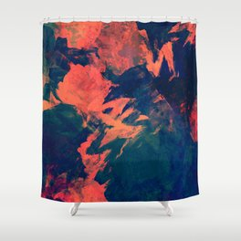 Abstract painting #society6 Shower Curtain