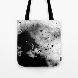War - Abstract Black And White Tote Bag
