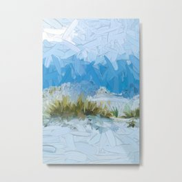 White Sands New Mexico Abstract Metal Print