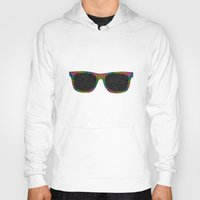sunglasses Hoodies featuring Sunglasses by Luna Portnoi