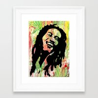 marley Framed Art Prints featuring Marley by Katie Mont