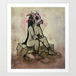 Owl Acolyte Art Print