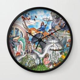 Studio Ghibli Wall Clock