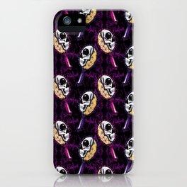 skull mirror iPhone Case