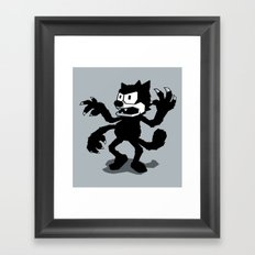Cartoon Rejects Subject: Cat Framed Art Print