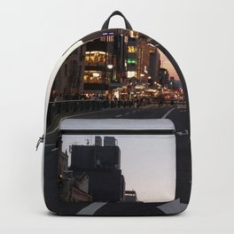city art new love walls night lights cars 2018 love vibe cute cities Backpack