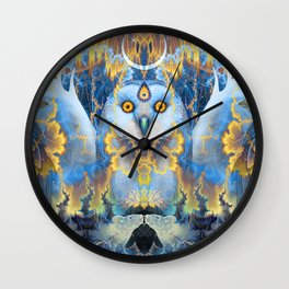 Moon Rhapsody Wall Clock